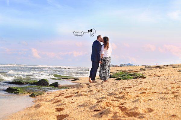 Engagement beach photography sessions Palm Coast Florida